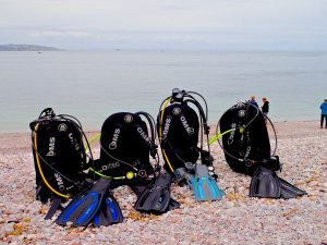 Brixham dive kit