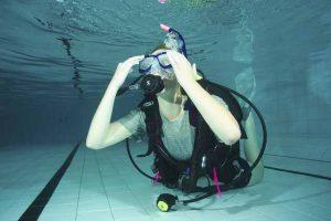 PADI Open water pool skills