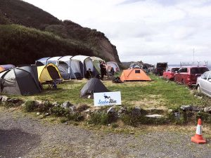 Camping at Porthkerris