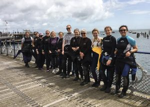 The Women of Scuba Blue